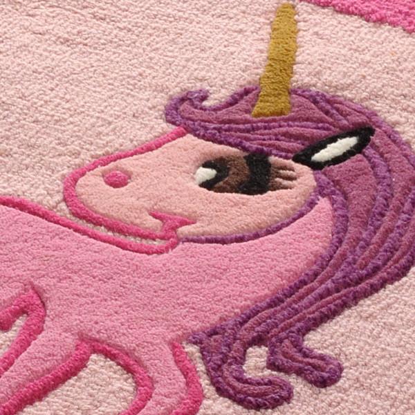 Little Looms Unicorn Rug