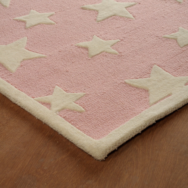 Pink Twinkling Star Rug