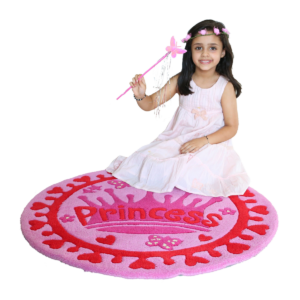 littlelooms princess kids rugs | Purple rugs for girls