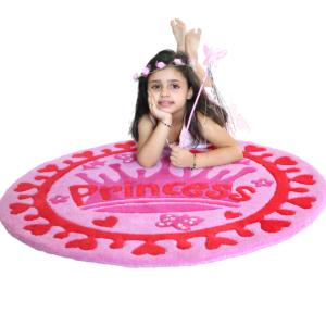 littlelooms princess kids rugs | Purple rugs for girls | Girlsroom rugs | Pinkrug