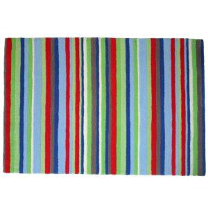 buy rugs online, stripes rugs, multicolor stripes rug, living room rugs, bedroom rugs, area rugs, littlelooms rugs, hand tufted rugs, handmade rugs