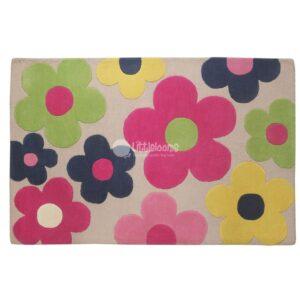 kids rugs, carpet for kids, rugs for girls, floral rug, rugs for playing, colorful carpet for kids, pink rug