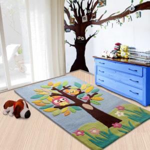 buy rugs online, kids rug, kids tree rug, colorful kids rug, kids owl rug, buy carpets, littlelooms rugs, handmade rugs, hand tufted rugs, living room rugs, bedroom rugs, area rugs, buy living room rugs online