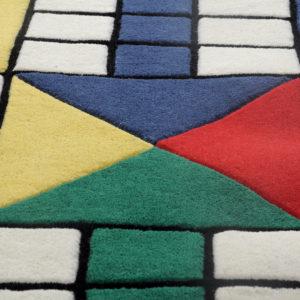 buy Ludo rug, Ludo rugs online, Ludo playing rug, Ludo colorful rug, rug for playroom, boys rugs, littlelooms rug, hand tufted rug, handmade rug, game room rugs