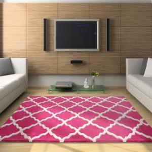 buy bedroom rugs, area rugs, pink rug, living room rugs, littlelooms rug, buy pink pattern rug online, colorful rugs, hand tufted rug, handmade rugs