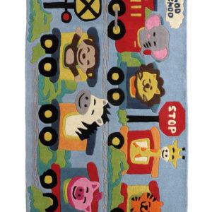 buy kids rugs online, buy kids carpets online, kids train rugs, buy kids Choo Choo train rug, kids room rugs, buy kids nursery rugs, littlelooms rugs, hand tufted rugs