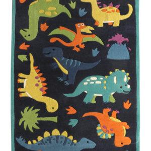 buy kids rugs online, buy kids carpets online, buy kids Dino rugs, kids dinosaur rugs, blue dinosaur rug for kids, buy kids nursery rugs, buy kids room rugs, littlelooms rugs, hand tufted rugs