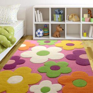 kids rugs, buy kids rugs, pink floral rug, buy pink floral rug, buy floral rugs, floral rugs for girls, kids rugs, carpet for kids, rugs for playing, rugs for girls, girls room, rugs for dancing, buy kids rugs, kids rugs online, hand tufted rugs, handmade rugs, littlelooms rugs