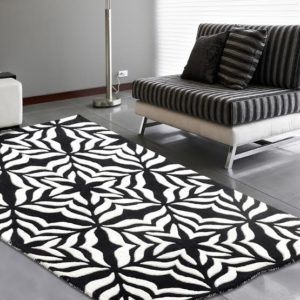 buy rugs online, buy carpets online, black & white rugs, black and white floral rugs, classic living room rugs, area rugs, littlelooms rugs, hand tufted rugs, handmade rugs