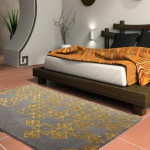 buy rugs online, buy carpets online, grey & gold rugs, living room rugs, area rugs, buy modern rugs, geometrical rugs, littlelooms rugs, hand tufted rugs, handmade rugs
