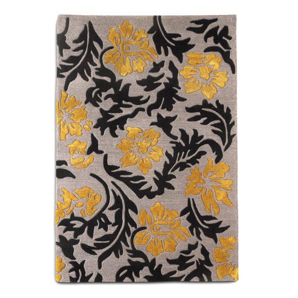 buy rugs online, buy carpets online, black & gold motif rugs, floral motif rugs, grey motif rugs, living room rugs, bedroom rugs, area rugs, littlelooms rugs, hand tufted rugs, handmade rugs