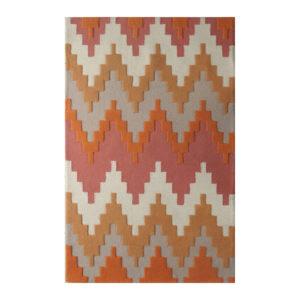 buy rugs online, buy carpets online, classic rugs, smart living room rugs, pastel orange rugs, pastel salmon rugs, colorful rugs, subtle rugs, littlelooms rugs, hand tufted rugs, handmade rugs