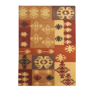 buy rugs online, buy carpets online brown Classic rug, brown earthy rug, traditional rugs, bedroom rugs, living room rugs, fireplace rugs, area rugs, littlelooms rugs, hand tufted rugs, handmade rugs