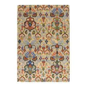 buy rugs online, floral patter rug, dense design rug, colorful rug, traditional rugs, classic rugs, living room rugs, bedroom rugs, rugs for prayer room, prayer rugs, littlelooms rugs, hand tufted rugs, handmade rugs