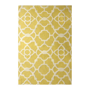 buy rugs online, yellow pattern rug, classic rugs, rugs for living room, rugs for bedroom, formal rugs, yellow & white pattern rug, littlelooms rugs, hand tufted rugs, handmade rugs
