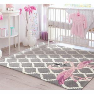 buy kids rugs online, buy kids carpets online, flamingo rugs, grey pattern rug, living room rugs, littlelooms rugs, hand tufted rugs, handmade rugs
