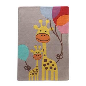 buy kids rugs, kids rugs online, giraffe rug, kids giraffe rug, kids room rugs, rugs for boys, grey giraffe rug, littlelooms rugs, handmade rugs, hand tufted rugs