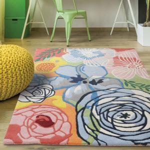 buy rugs online, buy carpets, littlelooms rugs, flower rug, floral rug, colorful rug, rugs with flowers, multicolor flower rugs, handmade rugs, hand tufted rugs, living room rugs, bedroom rugs, area rugs, buy living room rugs online
