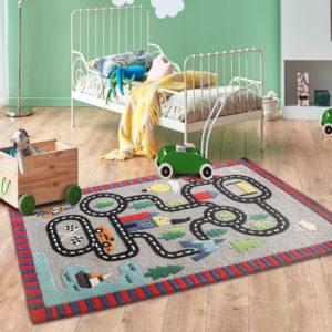 Grey rug, Beige rugs, Formal room rug, Living room rugs, Handmade rugs, hand tufted rugs, handmade rugs, Neutral rugs, Grey rugs, Pastel rugs, rugs for kids, rugs for boys, mountain rug, buy rugs online, buy kids rugs online, innovative kids rugs, Playing track rug