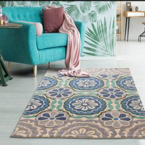 blue rugs, buy blue rugs, buy rugs online, beach theme rugs, living room rugs, bedroom rugs, contemporary rugs, hand tufted rug, pastel rugs, grey rugs, floral rugs, handmade rugs, fine wool rugs, coastal vibe, formal room rug, blue floral rug