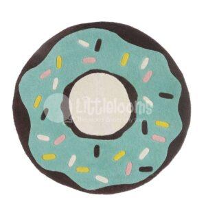 Teal rug, Girls rugs, Round rugs, Round mats, Pink rugs, Pink mats, Round rug, Girls rugs in pink, pastel rugs, pastel green rugs