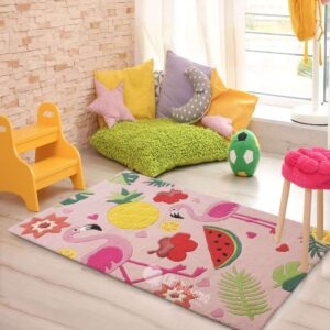 Tropical rugs and carpets for girls