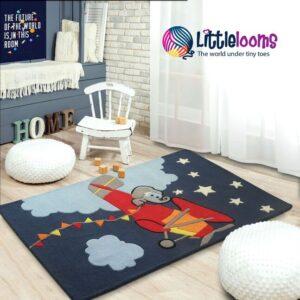 kids rugs, carpet for kids, rugs for boys, rugs for playing, handmade rugs, jet kids carpet