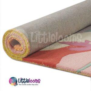buy kids rugs online, colorful rugs for kids, kids room rugs, Paradise Rugs For Girls, handmade rugs, woolen rugs, multipurpose kids rugs, rugs for kids, kids rugs, littlelooms rugs, hand tufted rugs, handmade rugs