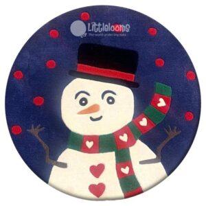 buy kids rugs online, kids rugs, xmas rugs, Christmas rugs for children, Snowman rugs, Kids Winter Rugs, kids room rugs, boys rugs, girls rugs, kids circle snowman rugs, littlelooms rugs, hand tufted rugs, handmade rugs