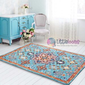 blur rugs, designer rugs online, blue rugs, bedroom rugs online