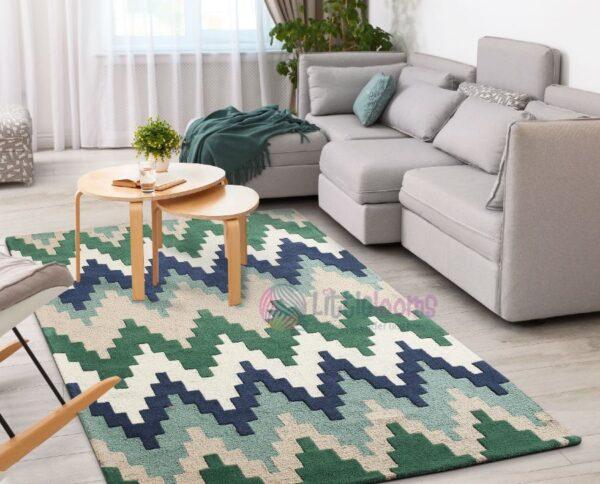 chevron carpets, blue carpets online, buy luxury rugs, designer rugs