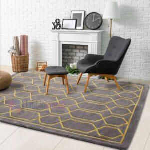 handmade carpets, buy rugs online, living room rugs online, grey bedroom rug, buy decorative rugs online, printed grey rugs online