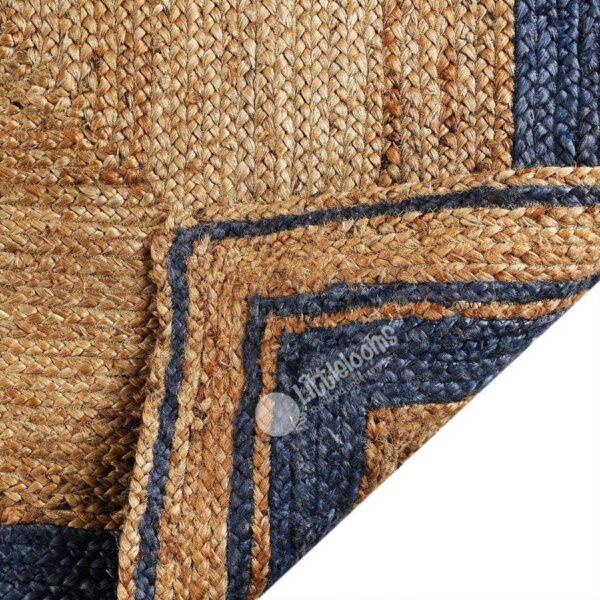 jute rugs, blue jute rugs, online jute rugs, floor rugs online