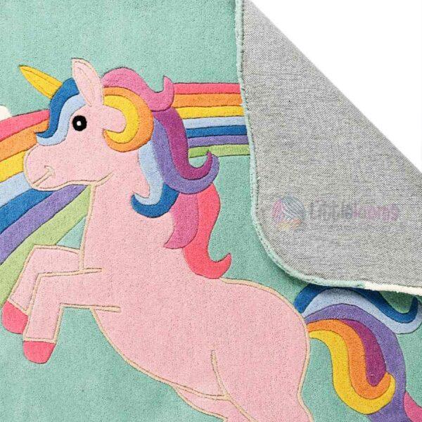 kids nursery rugs, unicorn rugs, multi-colour rugs, children room rugs, rugs for kids, buy soft baby carpets