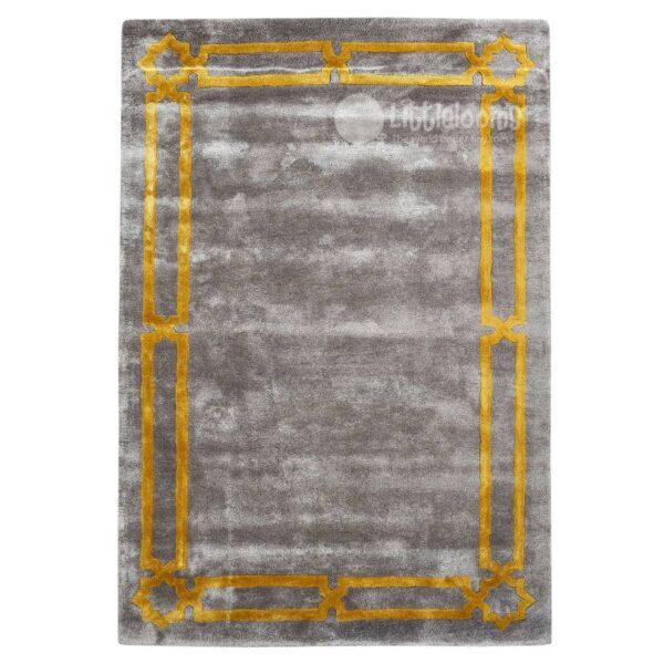 luxury rugs, designer rugs online, grey handmade rug