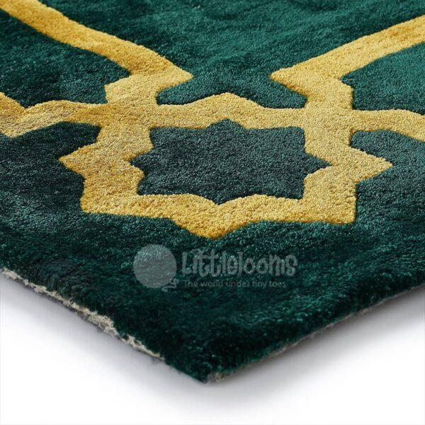 green rugs, shaab artsilk rug, artsilk area rugs
