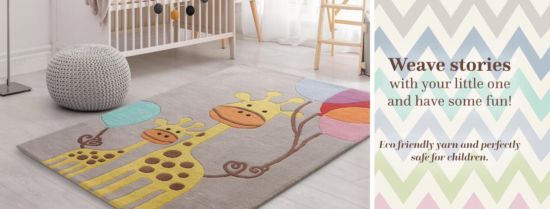 buy kids rugs online, buy kids carpets online, giraffe rug, kids giraffe rug, grey giraffe rug, kids room rugs, boys rugs, littlelooms rugs, Hand tufted rugs, handmade rugs